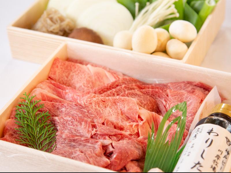 神戸ビーフすき焼きセット