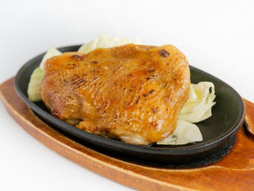 播州百日鶏のガーリック焼き1