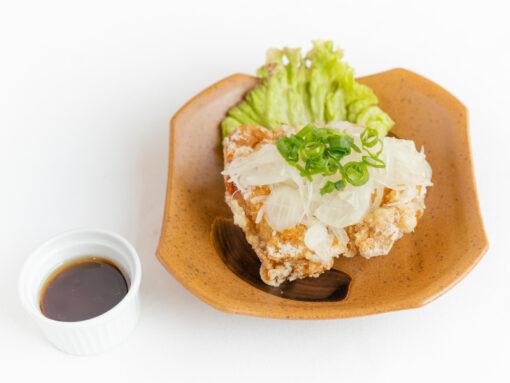 播州百日鶏の油淋鶏3
