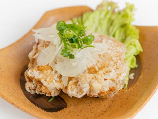 播州百日鶏の油淋鶏4