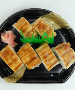 蒸し穴子棒寿司6