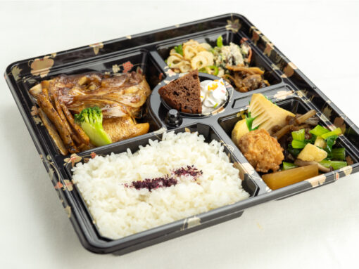 ますのみ_煮魚弁当1