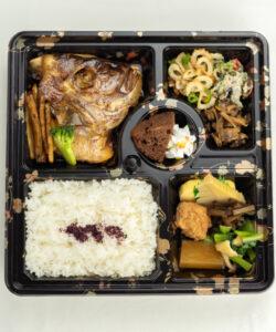 ますのみ_煮魚弁当2